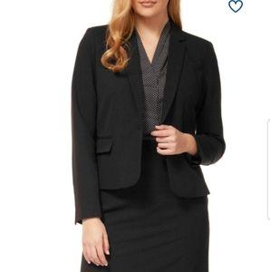 """NWOT. Dex """"The Suit Shop...New York"""" black blazer."""
